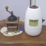 ドームミルと臼式お茶粉末器
