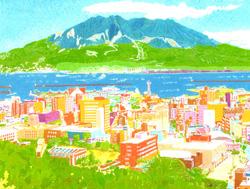 絵画 松本 東さん作